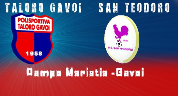 TALORO GAVOI – SAN TEODORO – 2-0