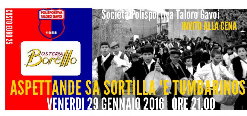 """""""Aspettande Sa Sortilla 'e Tumbarinos"""" ORE 21"""