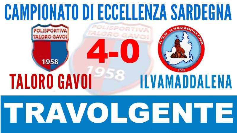 TALORO GAVOI – ILVAMADDALENA: 4-0