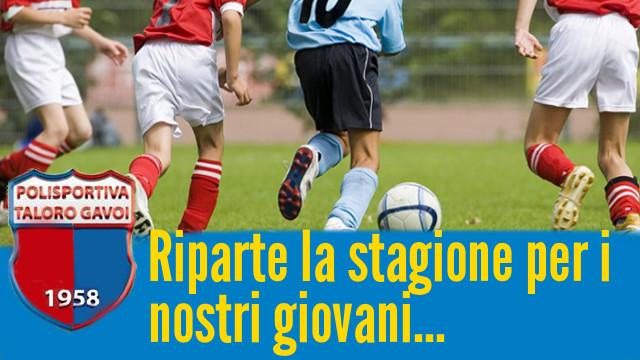 """SETTORE GIOVANILE """"SI RIPARTE"""""""