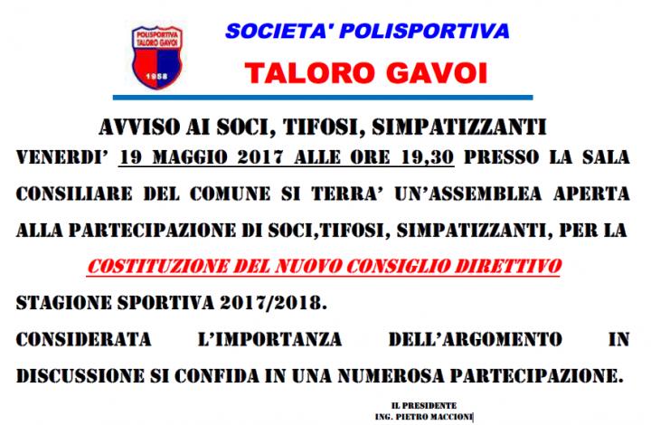 ASSEMBLEA-TALORO-GAVOI