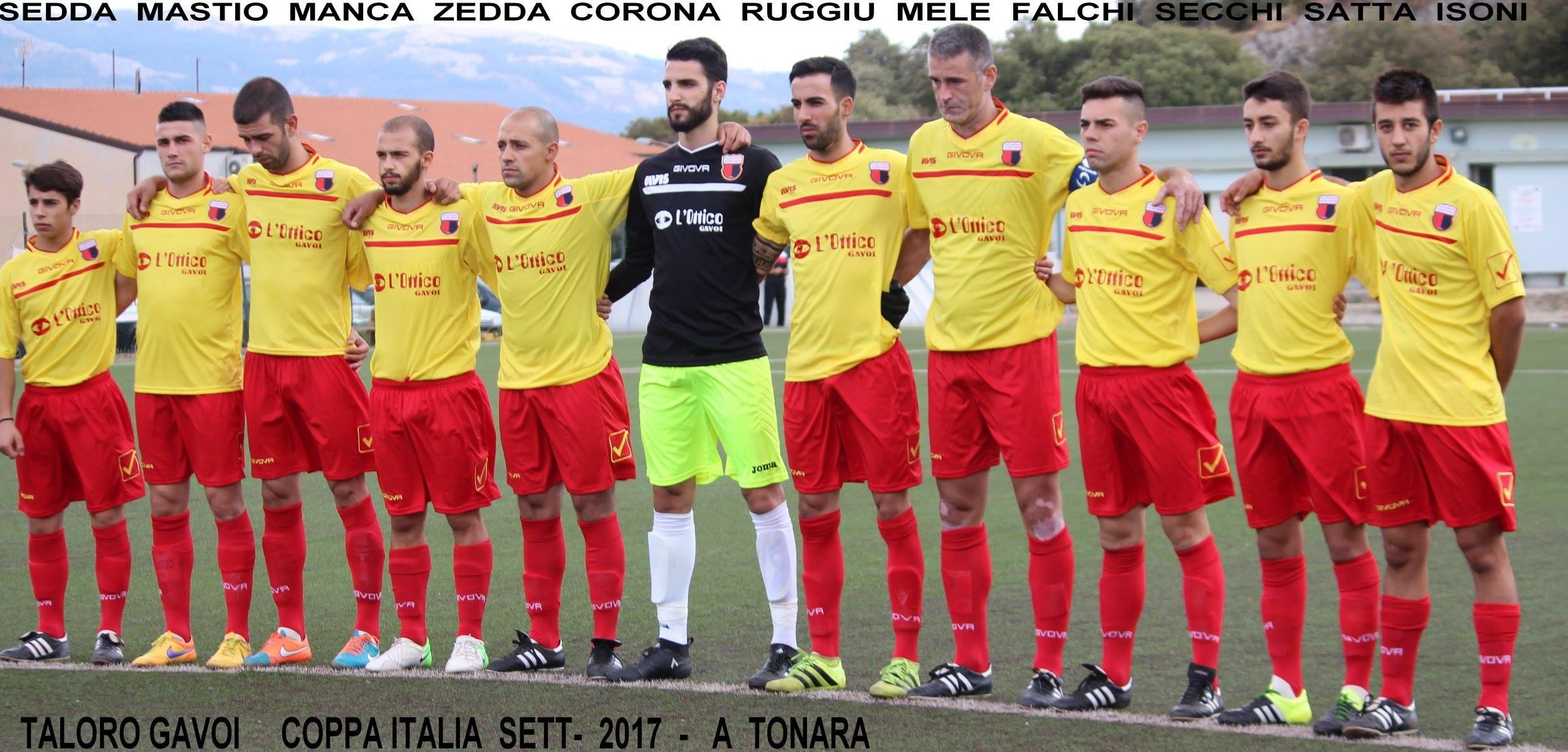 TALORO GAVOI- TONARA: 1-0