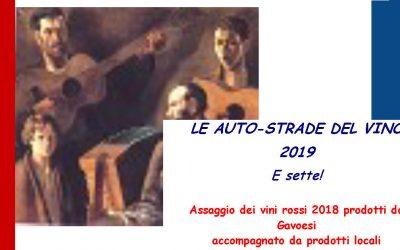 AUTO -STRADE DEL STRADE DEL VINO – 2019