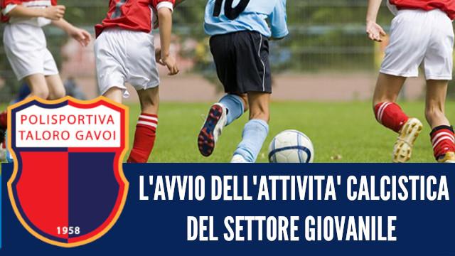 Avvio della  attività calcistica del settore giovanile  2019/2020