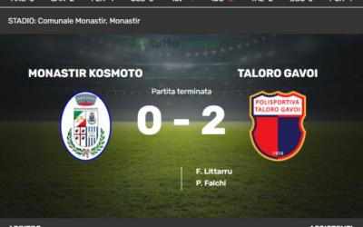MONASTIR vs TALORO: 0-2